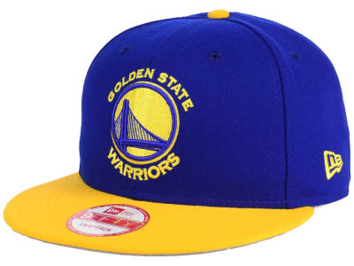 Golden State Warriors New Era NBA 2-Tone Warriors Chase 9FIFTY Snapback Cap