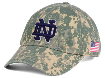 Notre Dame Fighting Irish Top of the World NCAA Stars and Stripes Crew Cap