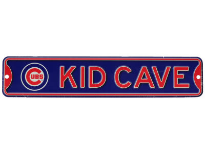 Chicago Cubs Authentic Street Signs Kid Cave Sign