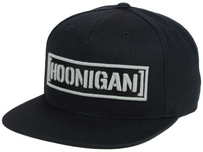 Hoonigan Censor Bar Reflective Snapback Hat