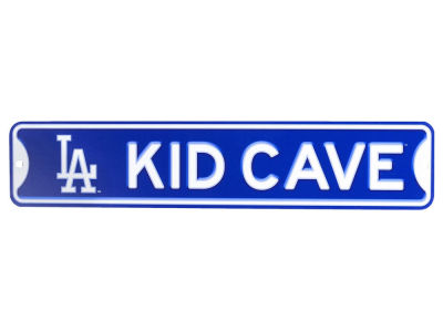 Los Angeles Dodgers Kid Cave Sign