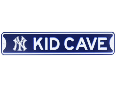 New York Yankees Kid Cave Sign