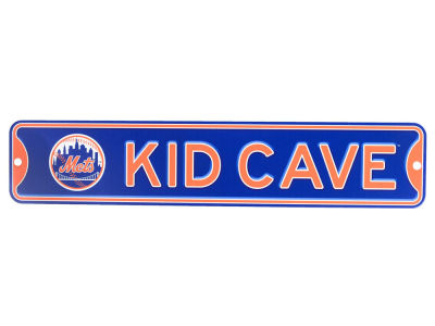 New York Mets Kid Cave Sign