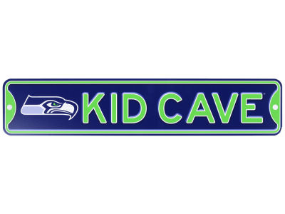 Seattle Seahawks Kid Cave Sign
