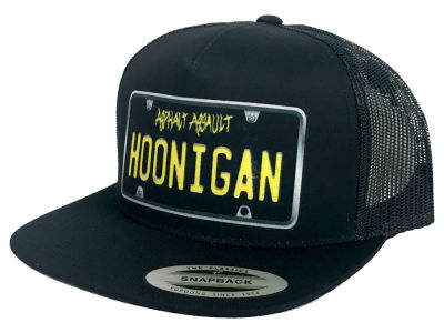 Hoonigan Plate Trucker Hat