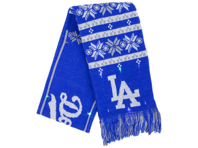 Los Angeles Dodgers Light Up Ugly Sweater Scarf