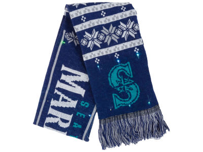 Seattle Mariners Light Up Ugly Sweater Scarf