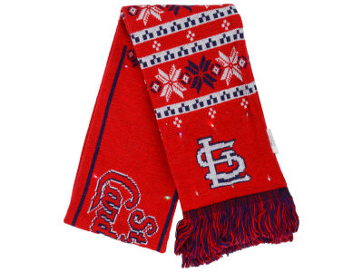St. Louis Cardinals Light Up Ugly Sweater Scarf