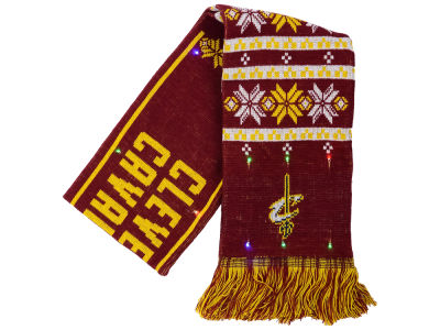 Cleveland Cavaliers Forever Collectibles Light Up Ugly Sweater Scarf