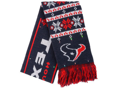 Houston Texans Light Up Ugly Sweater Scarf