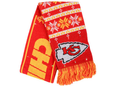 Kansas City Chiefs Light Up Ugly Sweater Scarf