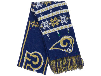 Los Angeles Rams Light Up Ugly Sweater Scarf