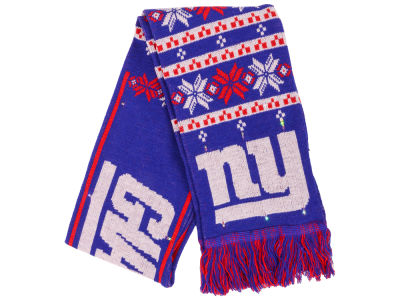 New York Giants Light Up Ugly Sweater Scarf