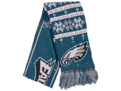 Philadelphia Eagles Light Up Ugly Sweater Scarf