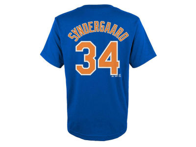 New York Mets Noah Syndergaard MLB Infant Official Player T-Shirt