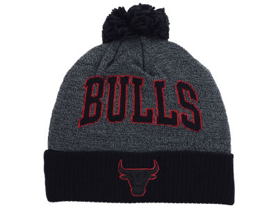 Chicago Bulls Mitchell and Ness NBA Black Board Knit