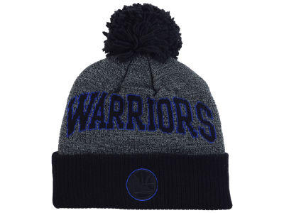 Golden State Warriors Mitchell and Ness NBA Black Board Knit