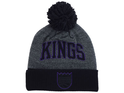 Sacramento Kings Mitchell and Ness NBA Black Board Knit