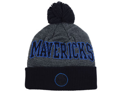 Dallas Mavericks Mitchell and Ness NBA Black Board Knit