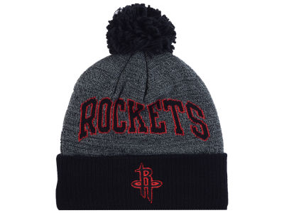 Houston Rockets Mitchell and Ness NBA Black Board Knit