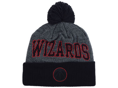 Washington Wizards Mitchell and Ness NBA Black Board Knit