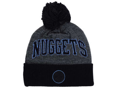 Denver Nuggets Mitchell and Ness NBA Black Board Knit