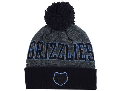 Memphis Grizzlies Mitchell & Ness NBA Black Board Knit