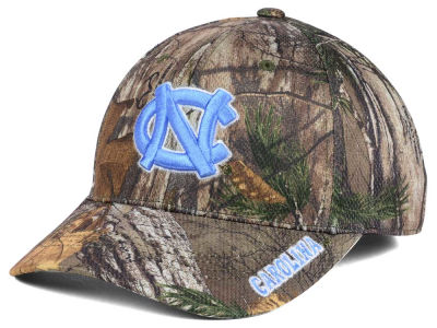 North Carolina Tar Heels Top of the World NCAA Realtree XB1 Camo Cap