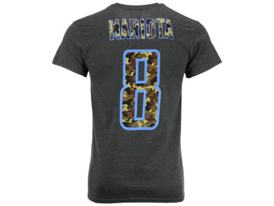 Tennessee Titans Marcus Mariota Majestic NFL Men's Camo Eligible Receiver T-Shirt