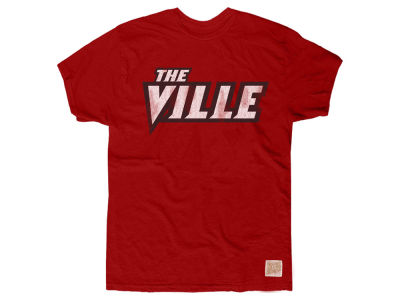 Louisville Cardinals Retro Brand NCAA Men's Cotton The Ville T-Shirt