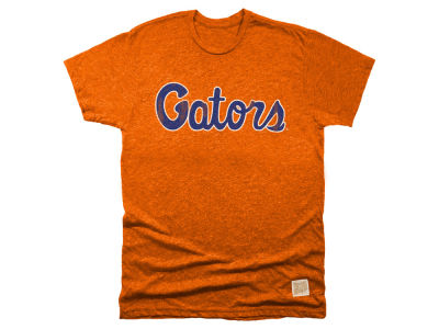 Florida Gators Retro Brand NCAA Men's Mock Twist Team Logo T-Shirt