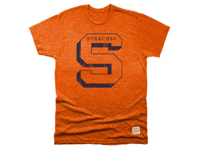 Syracuse Orange Retro Brand NCAA Men's Mock Twist Team Logo T-Shirt
