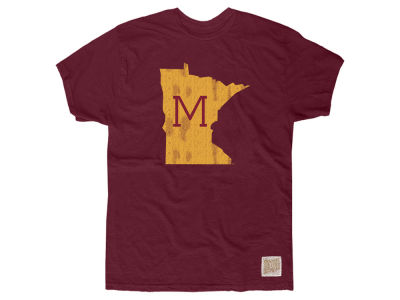 Minnesota Golden Gophers Retro Brand NCAA Men's Slub Vault Logo T-Shirt
