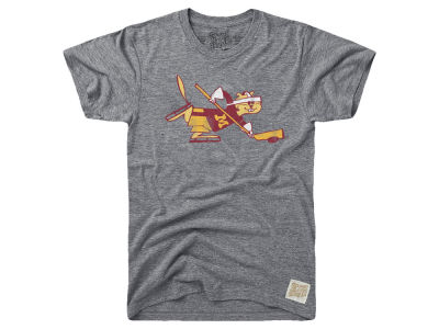 Minnesota Golden Gophers Retro Brand NCAA Men's Tri-Blend Vault Logo T-Shirt