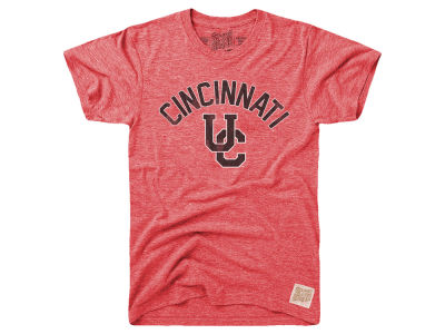 Cincinnati Bearcats Retro Brand NCAA Men's Tri-Blend Vault Logo T-Shirt