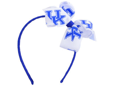 Kentucky Wildcats Wrapped Headband with Jr Bow