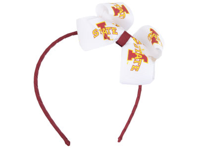 Iowa State Cyclones Wrapped Headband with Jr Bow