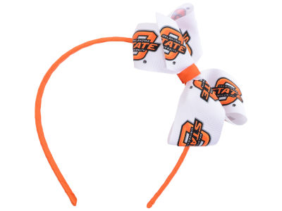 Oklahoma State Cowboys Wrapped Headband with Jr Bow
