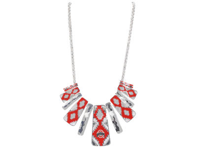 Ohio State Buckeyes Aztec Statement Necklace