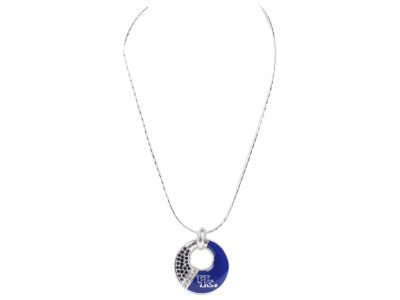 Kentucky Wildcats Enamel Rhinestone Necklace