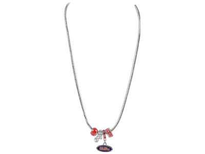 Ole Miss Rebels MVP Charm Necklace