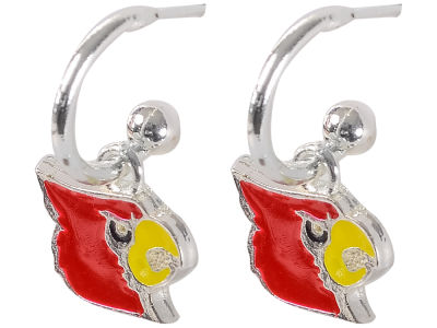 Louisville Cardinals Small Logo Dangle Earrings