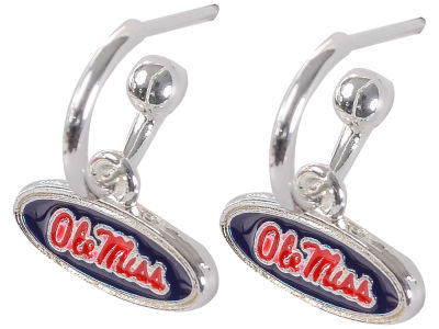 Ole Miss Rebels Small Logo Dangle Earrings