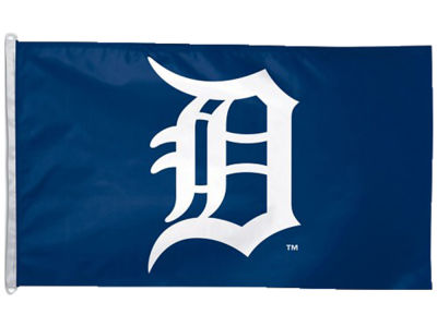 Detroit Tigers Flag 3x5