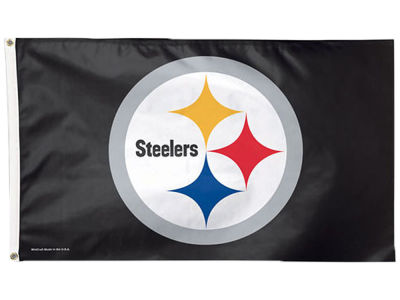 Pittsburgh Steelers Flag - 3' X 5'