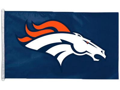 Denver Broncos Flag - 3' X 5'