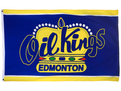 Edmonton Oil Kings Flag 3x5