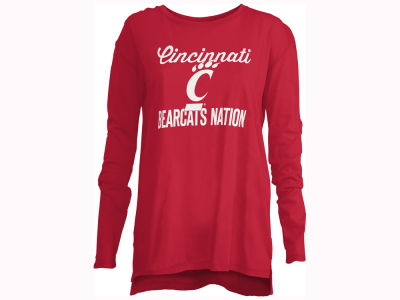 Cincinnati Bearcats Pressbox NCAA Women's Noelle Long Sleeve T-Shirt