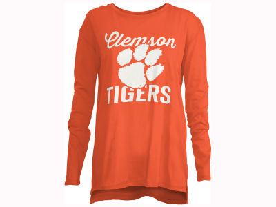 Clemson Tigers Pressbox NCAA Women's Noelle Long Sleeve T-Shirt
