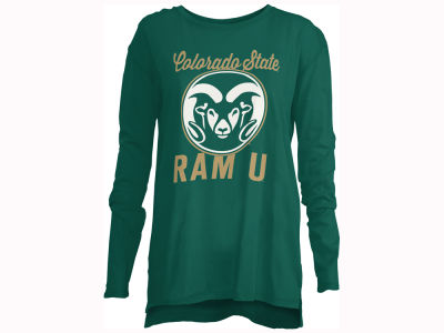 Colorado State Rams Pressbox NCAA Women's Noelle Long Sleeve T-Shirt